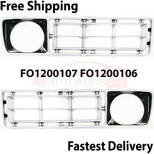 Ford F100 F150 F250 Fits 1976 77 Front Right Left Grille Fo1200107 Fo1200106