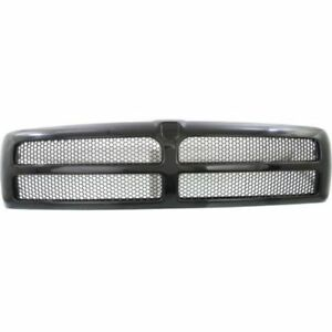 New For Dodge Ram 2500 Grille Textured Fits 1994 1998 Ch1200188 5ez51rx8