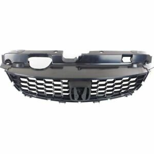 New For Honda Civic Front Grille Black Made Of Plastic Fits 2004 2005 Ho1200165