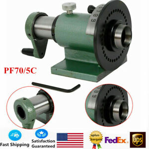 5c Indexing Spin Jigs Precision Spin Index Fixture Collet For Milling Machine Us