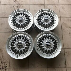 Rare Bbs Super Rs Rs224 15x6 5j Et45 Pcd 5x114 3 Three Piece