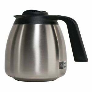 Bunn 64 Oz 1 9l Stainless Steel Thermal Coffee Carafe Black Lid