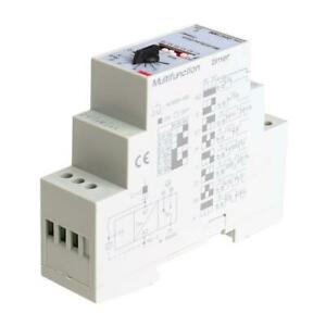 1pc Ac dc 24 240v Dhc19 m Din Rail Multifunction Timer Time Relay