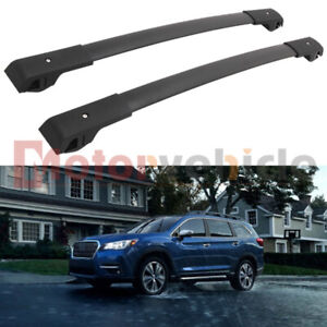 Us Stock Black Cross Bar For Subaru Ascent 2019 2020 2021 Roof Rack Rail Baggage