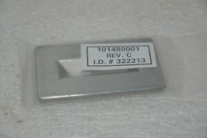 Varian Xp 101480001 Rev C Arch Chamber Front Slit Aperture Ion Source New