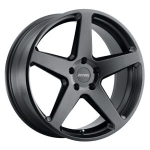 Petrol P2c Rim 19x8 5x114 3 Offset 40 Semi Gloss Black Quantity Of 4