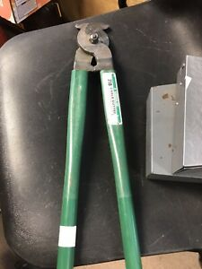 Greenlee 718 18 inch Heavy Duty Manual Cable Cutter For Copper aluminum Cables