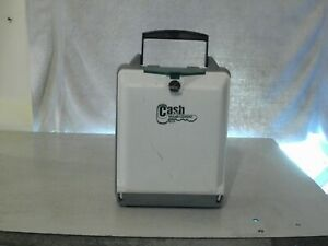 Cash Management Box Used With Directions With One Key