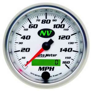 Autometer 3 3 8in Nv s Programmable Speedometer 7488