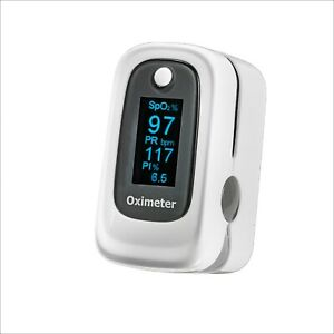 New fda Ce Certified Finger Pulse Blood Oximeter Heart Rate Monitor