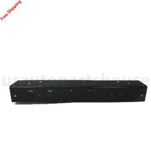 New For Jeep Wrangler Fits 1997 2006 Front Bumper Face Bar Black Paint To Match