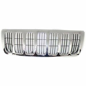 New For Jeep Grand Cherokee 4 door Grille Fits 1999 2003 55155921ac Ch1200234