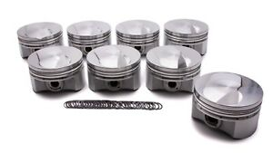 Diamond Racing Products Bbc Domed Piston Set 4 600 Bore 4 250 Stroke 12713 8