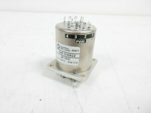 Dow key 545 530822 28 Vdc Spnt Multiposition Coaxial Rf Switch Dowkey