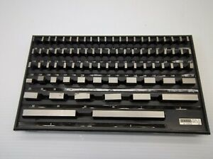 Spi 81 Piece Gage Block Set Gauge Blocks W no Case Economy Grade P n h05534