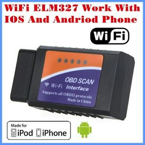 Wifi Work With Iphone And Android Obd Ii Obd Code Reader Diagnostic Tool