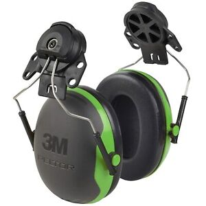 3m Peltor X1 Earmuffs X1p3e Hard Hat Attachment For Noise Protection