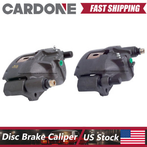 Front Left Right Brake Calipers With Bracket Fits 1994 1998 Ford Mustang