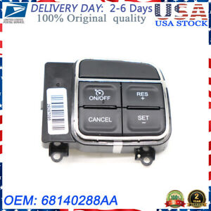 68140288aa New Cruise Control Switch Fits Jeep Dodge Ram Chrysler 2011 2015