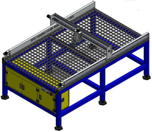 Laser Cnc Cutting Table 2500x1500mm Plans Only
