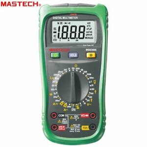 Mastech Ms8360e Digital Multimeter 2000 Counts Non contact Voltage Detector