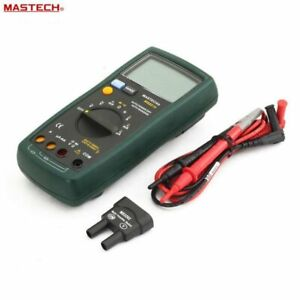 Mastech Ms8215 Auto Range Digital Multimeter Current Tester Resistance Tester