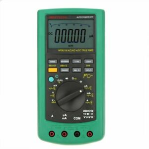 Mastech Ms8218 High Accuracy True Rms Digital Multimeter Meter W rs232 Interface
