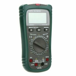 Mastech Ms8260b Digital Multimeter Dmm Volt Tester Detector Ammeter Multitester