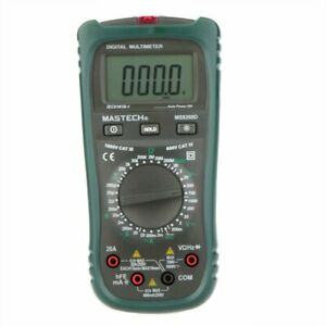 Mastech Ms8260d Digital Multimeter 4 1 2 Non contact Current Frequency Detector