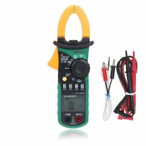 Mastech Ms2008b Ac Digtal Clamp Meter With Light Temperature Frequency