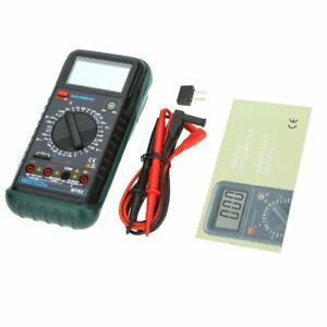 Mastech My63 Handheld Digital Multimeter Dmm W capacitance Frequency
