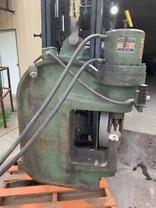 100 Ton Portable Web And Flange Press Punch Power Unit With Hoses