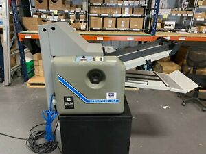 Refurbished Baum 714 Xlt Paper Folder W Rebuild Kit Professionally Installed