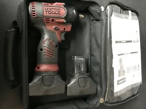 Matco Tools Infinium 16v 3 8 Cordless High Power Impact Wrench Kit