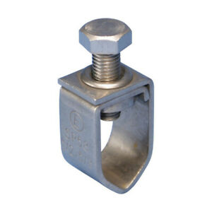 Eritech Sp58 Stainless Steel Ground Rod Clamp 1 2 5 8 box Of 50
