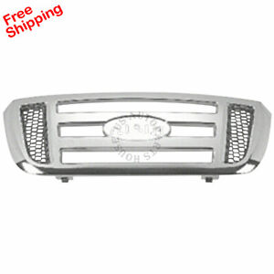 New For Ford Ranger Front Grille Fits 2006 2011 Fo1200474 6l5z8200aaa 2 4 door
