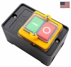 Us 1 Piece Kao 5 On Off 10a Case Waterproof Emergency Stop Switch Push Button Ho