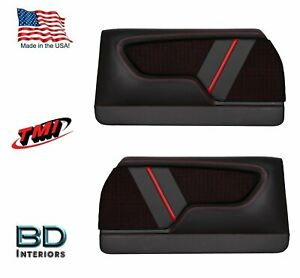 Custom Made Molded Sport Lr Door Panels For 1970 1972 Chevrolet Chevelle s