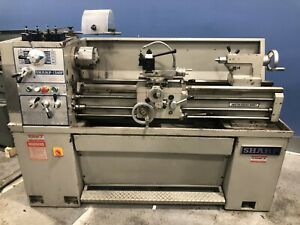 Sharp 1340f Gap Bed Lathe 13 Swing X 40 Center 2000 3 jaw Qc Tools In mm