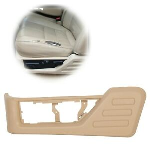 Left Driver Seat Cushion Trim Panel Tan For 08 10 Ford F250 F350 Super Duty