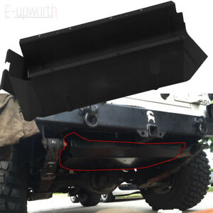 Gas Tank Skid Plate Fit For 87 95 Jeep Wrangler Yj With 15 Or 20 Gallon Gas Tank