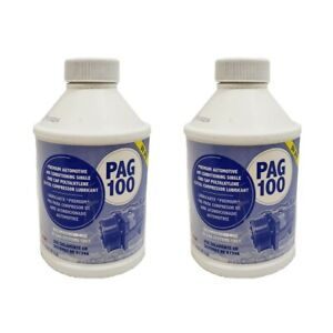 Pag100 Globalair Compressor Refrigerant Oil R134a Lubricant 2 8oz Bottle
