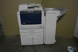 Xerox Workcentre 5845 Laser Mfp Copier Printer Scanner W office Finisher