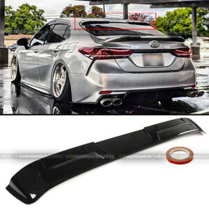 For 18 19 20 Toyota Camry Glossy Black Jdm Vip Rear Window Roof Wing Spoiler