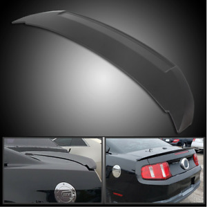 For 2010 2014 Ford Mustang Coupe Shelby Gt500 Style Paintable Abs Trunk Spoiler