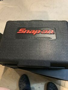 Used Snap On Case For Cdr6850 18 Volt Cordless Drill Case Only No Drill