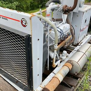 80 Kw Natural Gas Generator Spectrum Detroit Diesel