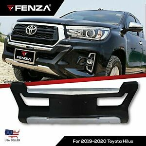 Front Bumper Guard Protector For 2019 2020 Toyota Hilux