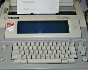 Vintage Smith Corona Pwp 365ds Model 5f Personal Word Processor Typewriter