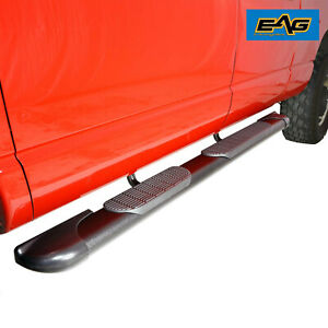 Eag Oval Running Board 70 x6 With Bracket Fit For 07 18 Jeep Wrangler Jk 4 Door